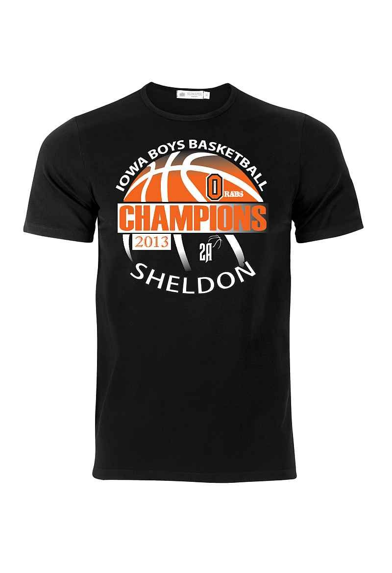 Basketball Design Orab Championship T Shirts Kiwaradio