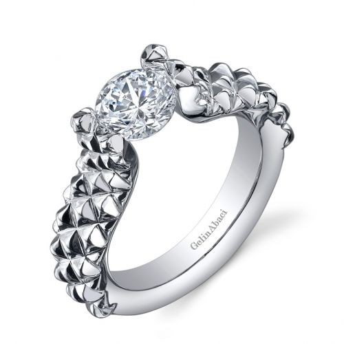 Engagement Rings Kansas City: Gelin Abaci Tension Setting TR-249 @ Jewelry By Morgan In