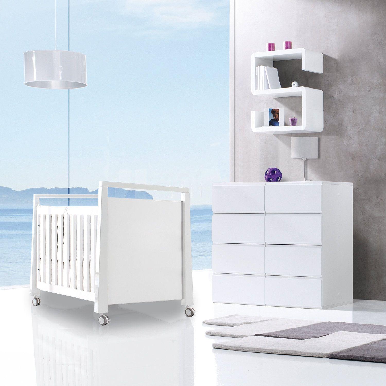 Fantástico set de cuna 60x120cm y cómoda para bebés en oferta online ...