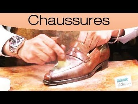 astuces enlever une tache grasse sur chaussures en cuir youtube pratique pinterest. Black Bedroom Furniture Sets. Home Design Ideas