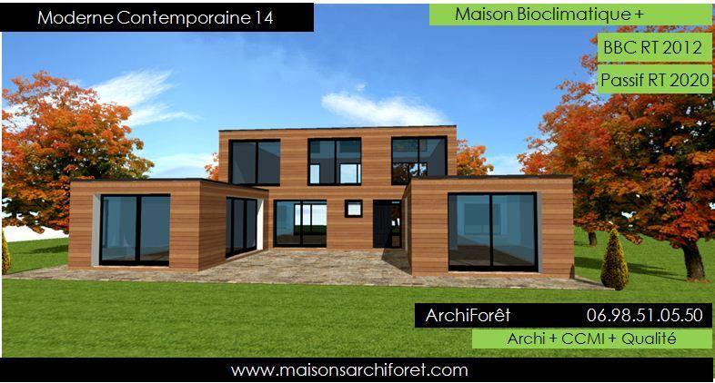 Plan Maison Moderne Contemporaine | varsovia.co