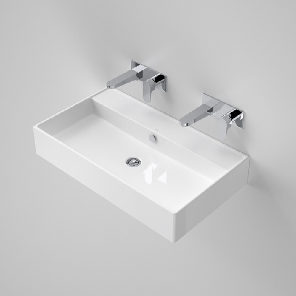 The Caroma Teo 800 Wall Basin Australia Wide At Blue E Range Of Hung And Mounted Basins Online