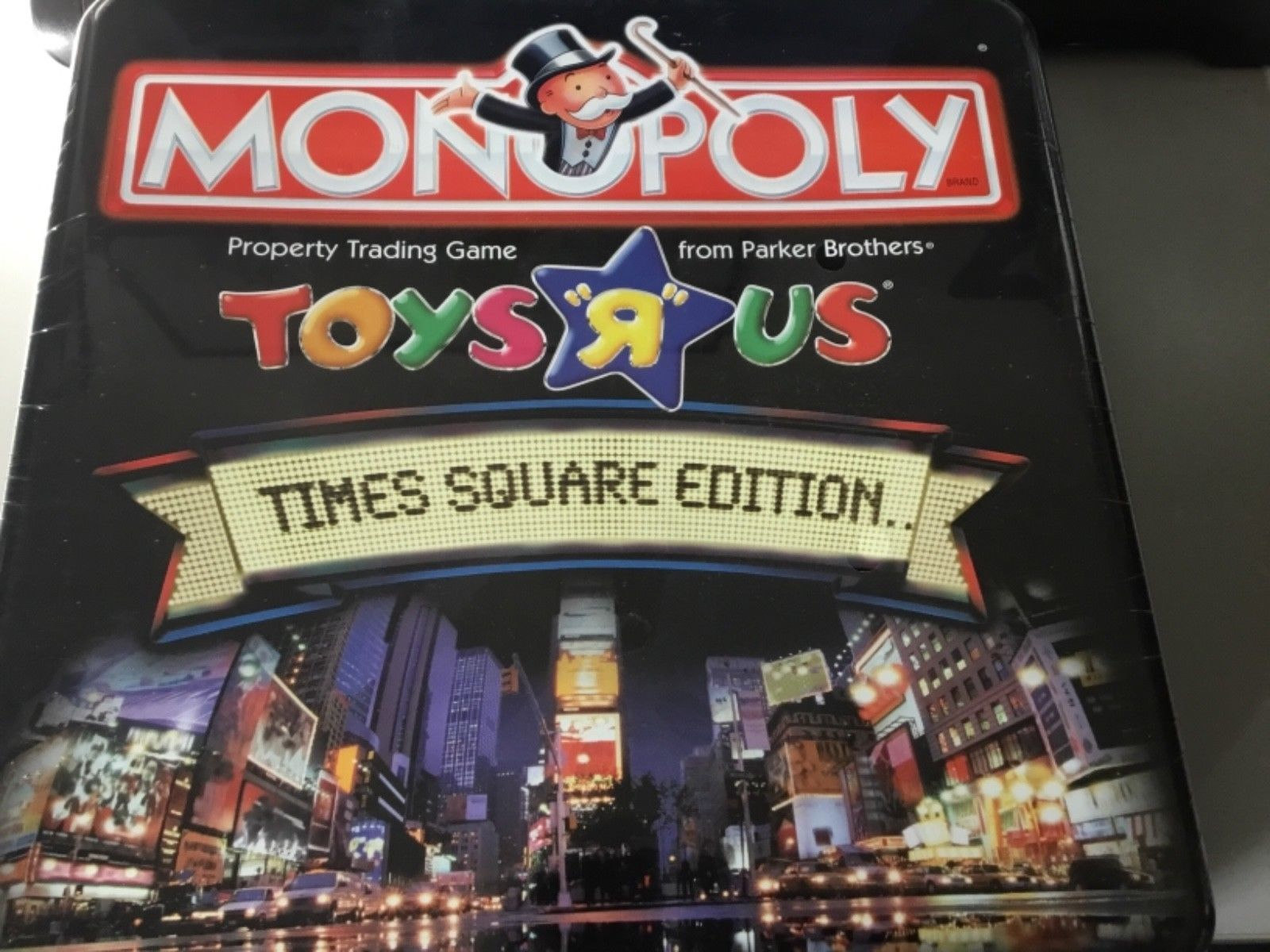Monopoly Toys R Us Times Square Edition Game Tin Toys R Us Board Games Monopoly