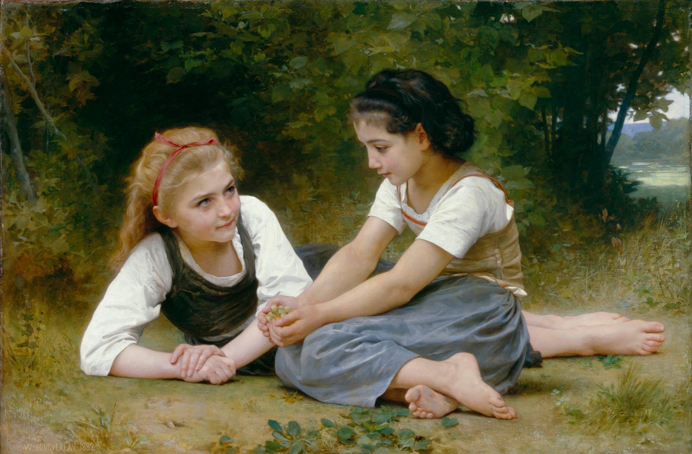 William Bouguereau French Realist Classical Nymphaeum ART