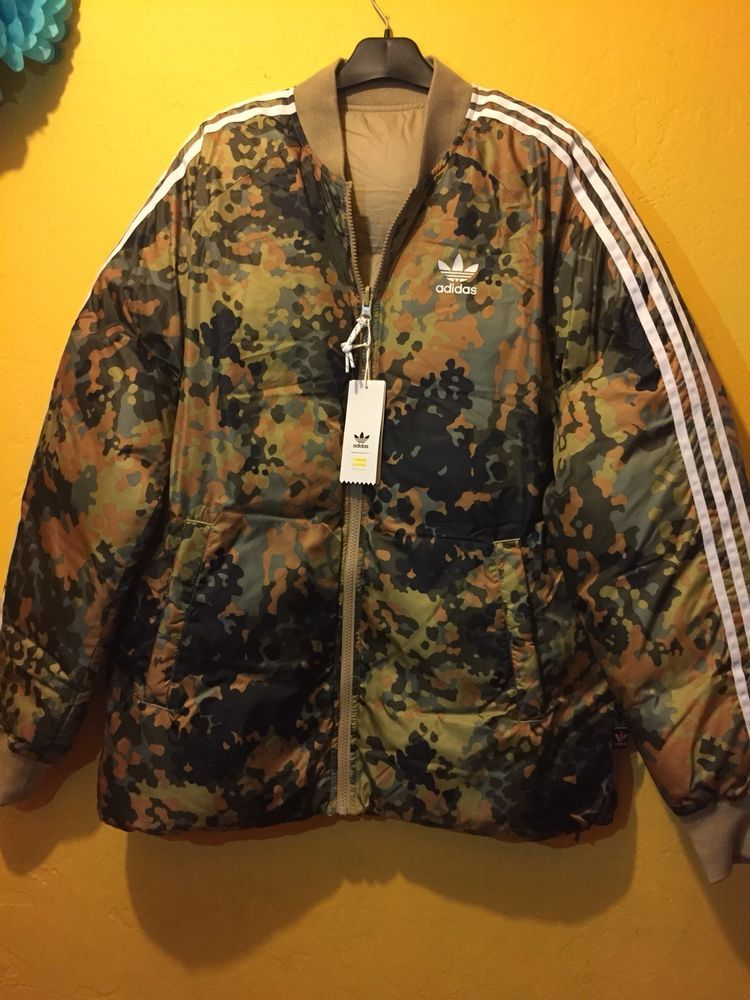 9dfceca90e4 Adidas Originals Pharrell Williams Hu Hiking Reversible Camo SST ...