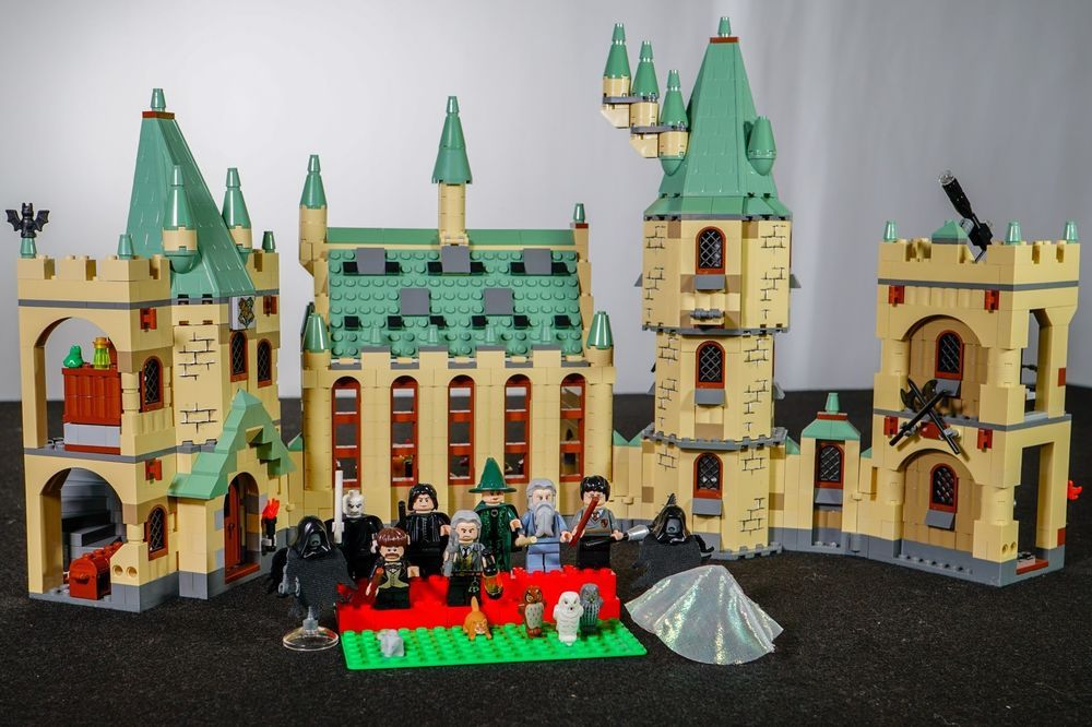 hete verkoop verenigde staten aankomen Lego Harry Potter 4842 Hogwarts Castle 100% Complete W ...