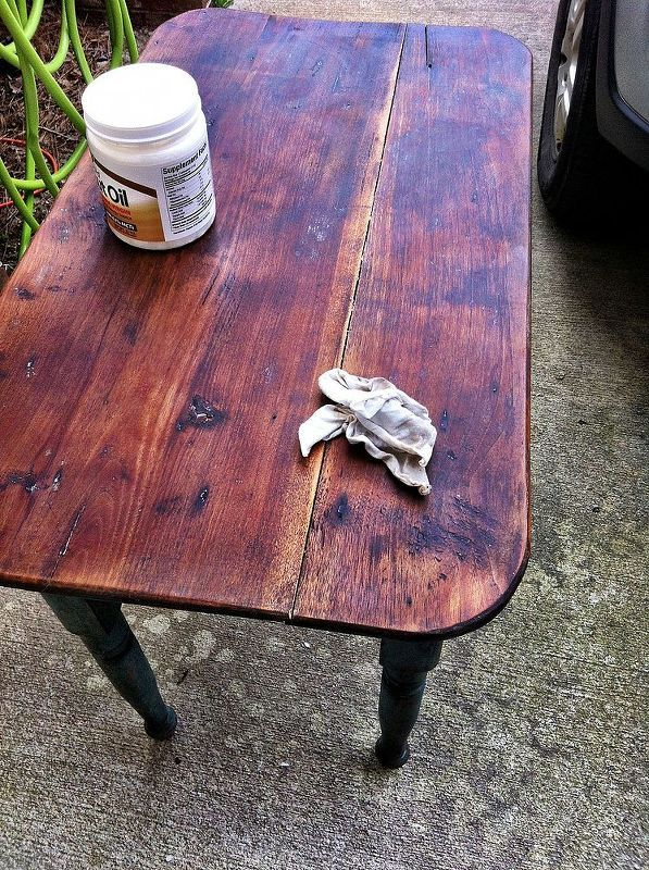 Refinishing Old Wood with Coconut Oil  Paint furniture and Woods
