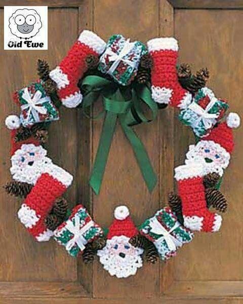 Wreath Crochet Pinterest Wreaths And Crochet