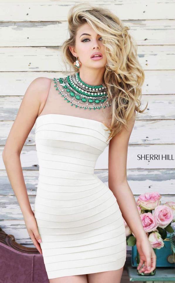 Sherri Hill 32080 | Green homecoming dresses, Cute tight