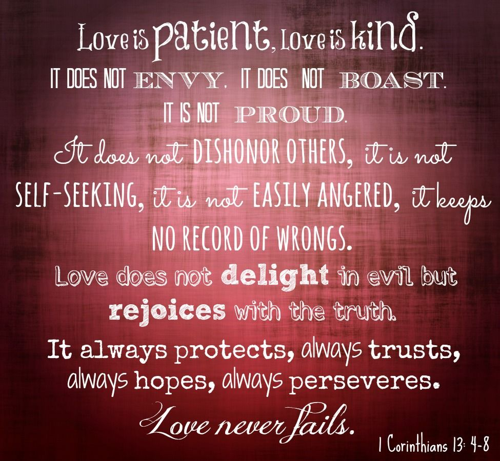 Biblical Quotes About Love Bible Verses About Love  Love Bible Quotes My Favorite Bible