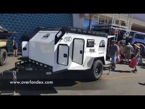 composite walled (no wood) teardrop trailer by Overland