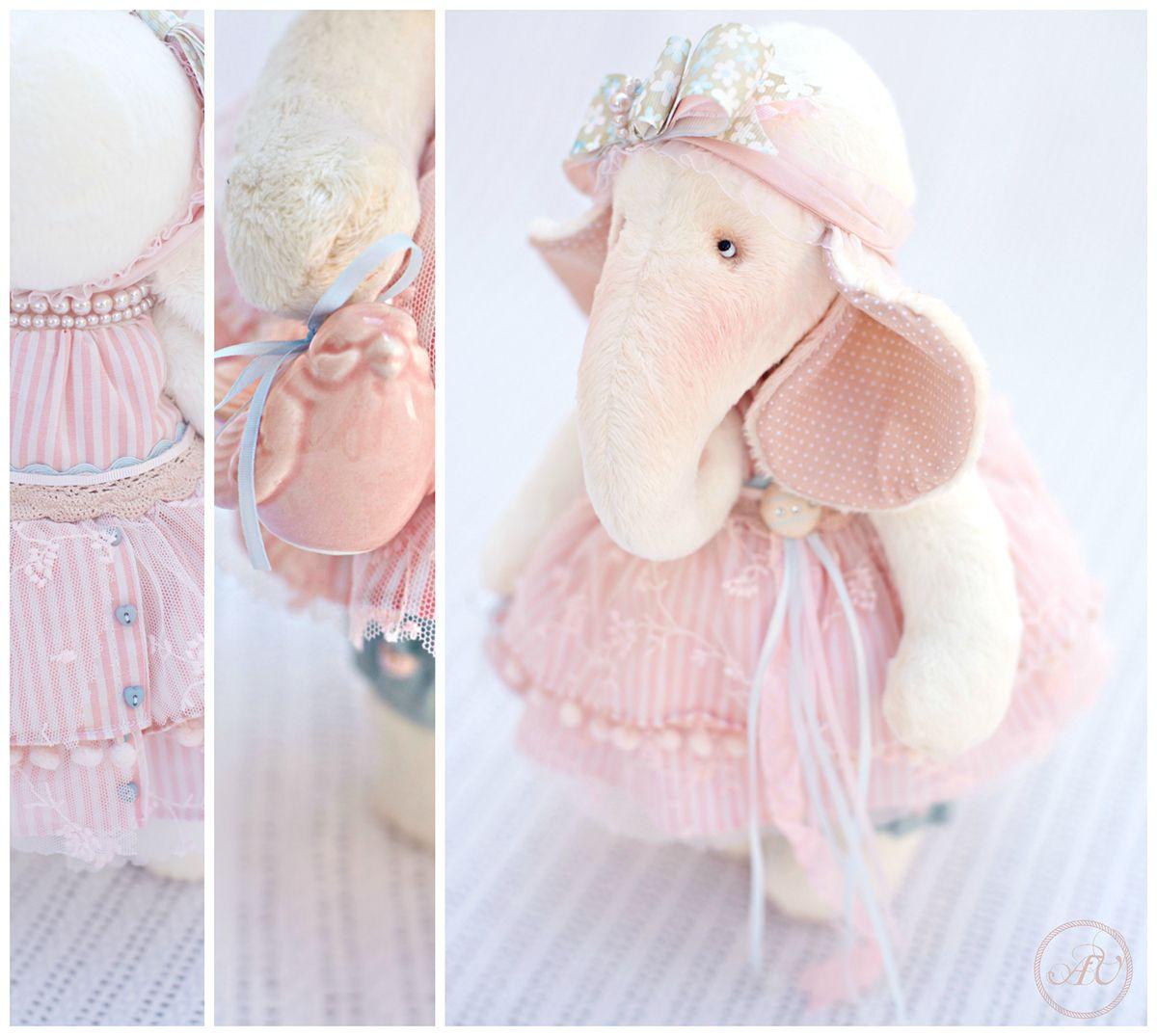 macaruna is big elephant 35 cm | Dolls vicky vicky | Pinterest