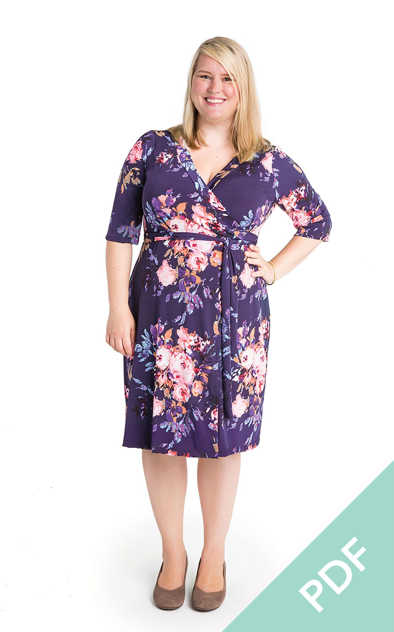 Appleton Dress PDF pattern | Tutoriales, Patrones y Costura