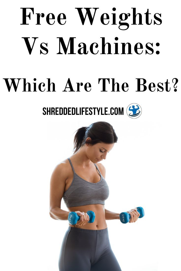 Welcome to the showdown of free weights vs machines. This is a topic  nearly every lifter has discus...