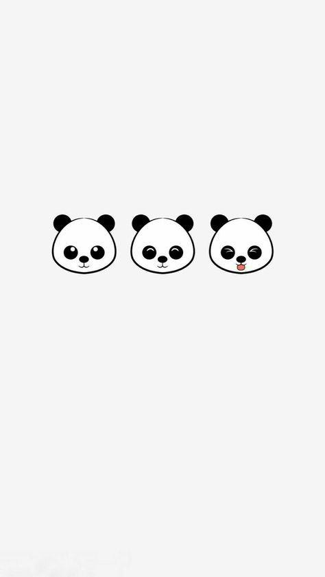 41+ Super ideas wall paper iphone cute panda
