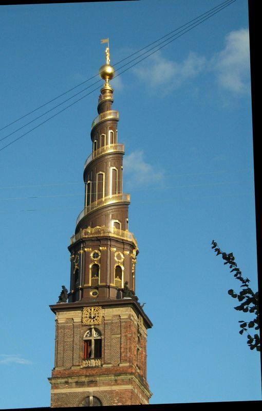 Frelserkirken, the Savior's Church, Danish Baroque ...