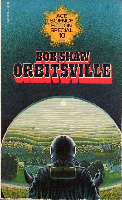 Orbitsville (1975) by Bob Shaw. 1976 cover by David Schleinkofer.