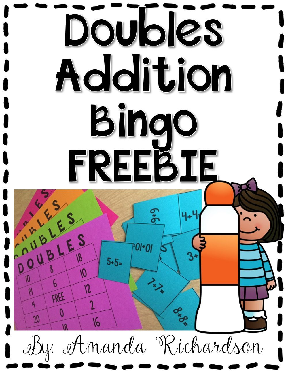 Doubles Addition FREEBIE | Doubles addition, Math and Math doubles