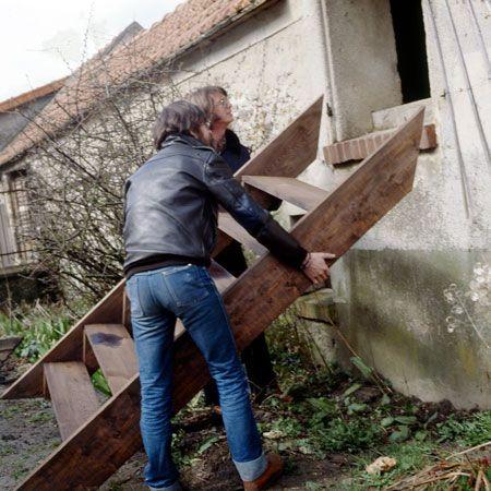 Comment fabriquer un escalier du0027extérieur en bois? Note - fabriquer escalier exterieur bois