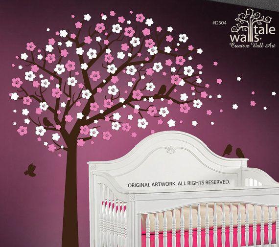 Tree Wall Decal Cherry Blossom Tree Tree Wall Decal Tree Wall
