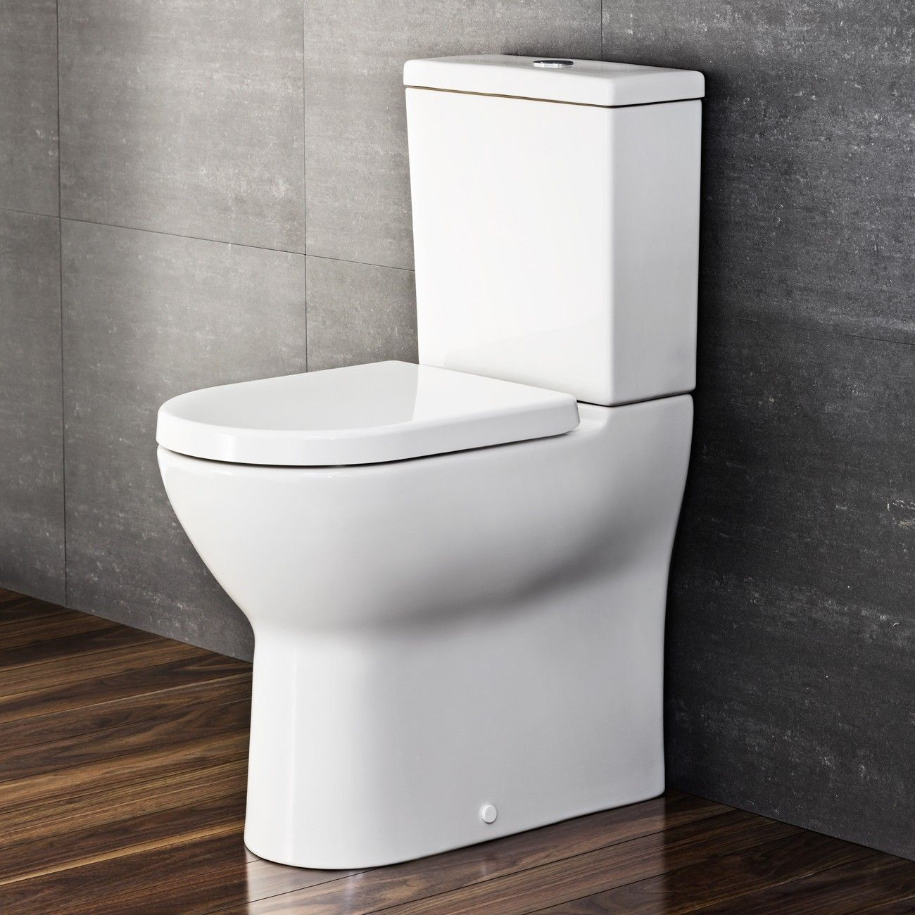 Vitra S Line S70 Alto Bottom Inlet Toilet Suite