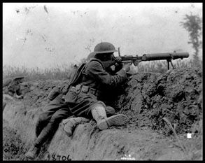 Picture of Trench Warfare 2/3- 115th Machine Gun Battalion, 30th ...
