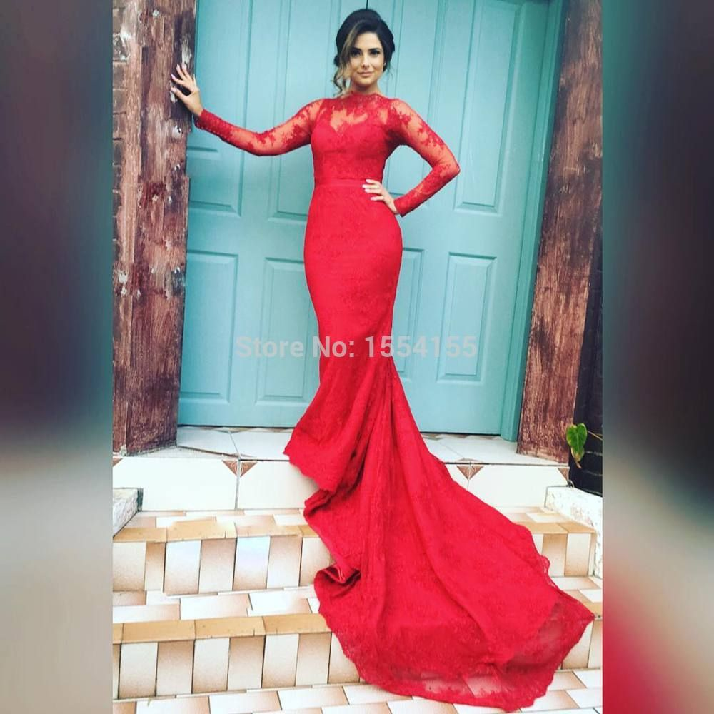 Red Long Sleeve Prom Dresses 2016,how to slay prom in 2016,prom2k16 ...