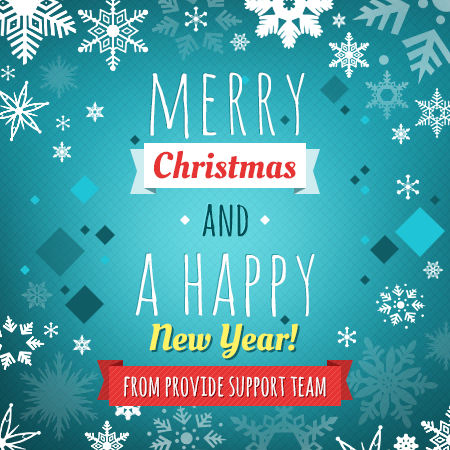 Merry Christmas and very best wishes for a Happy New Year