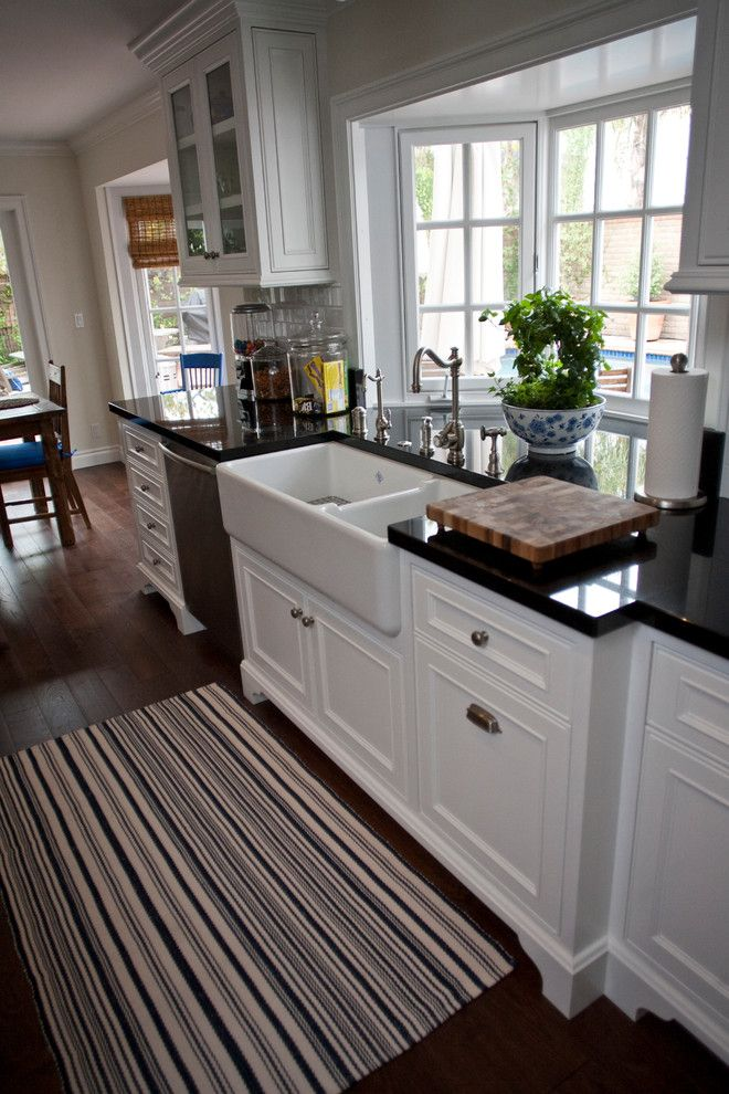 bay window molding kitchen traditional with craftsman architecture beach style california on kitchen interior with window id=25981