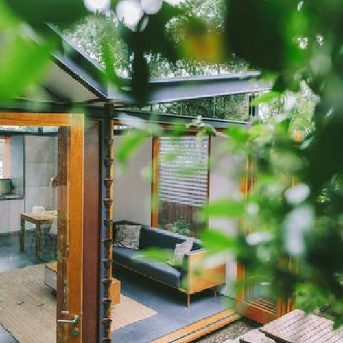 THE COPPER SHIPPING CONTAINER HOUSE DWELL BOXES