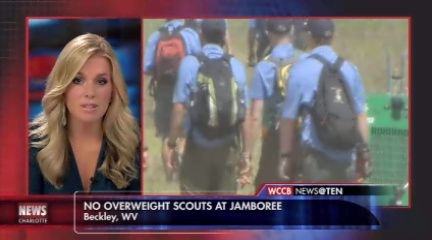 The Boy Scouts of America struck up controversy again after organization leaders refused to allow obese members to attend its Jamboree Convention this week in West Virginia.