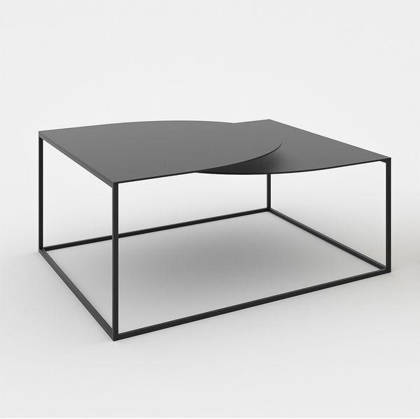 Table Basse Noire Design Douceur Nordique En 2020 Table Basse Noire Table Basse Table Basse Blanche Design