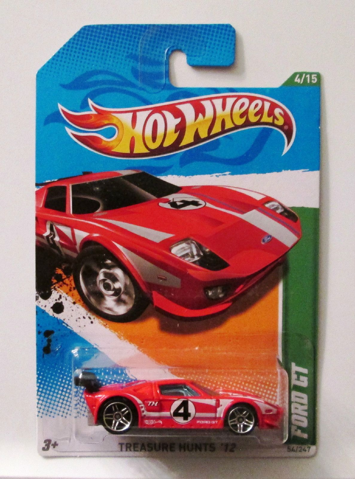 Hot Wheels 2012 Treasure Hunt Ford Gt Red Very Rare Ford Gt Hot Wheels Cars Hot Wheels