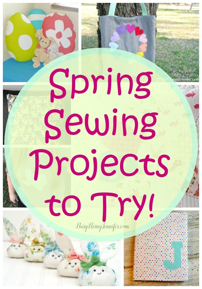 Some of these spring sewing projects will be some selfish sewing just for me, a few I've already made and the rest will make awesome gifts!