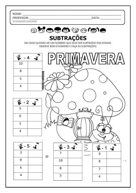 Pin Em Matematica