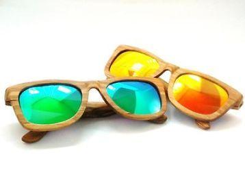 41fc9284b7b43c Houten Wayfarer zonnebril diverse kleuren! - Zonnebrillen en Brillen