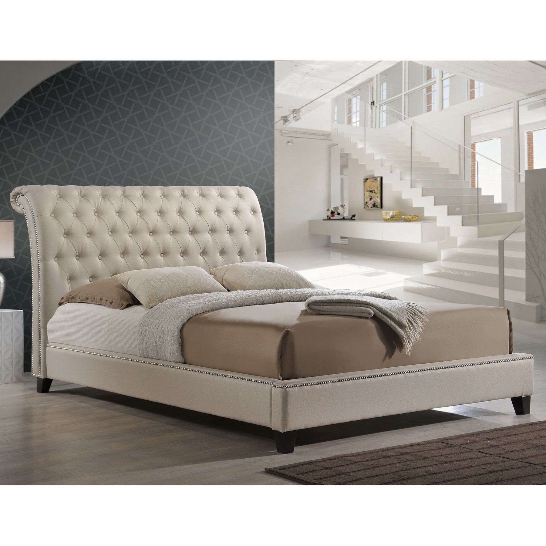 Our Jazmin Designer Bed Shines With Fabulous Features A Scroll