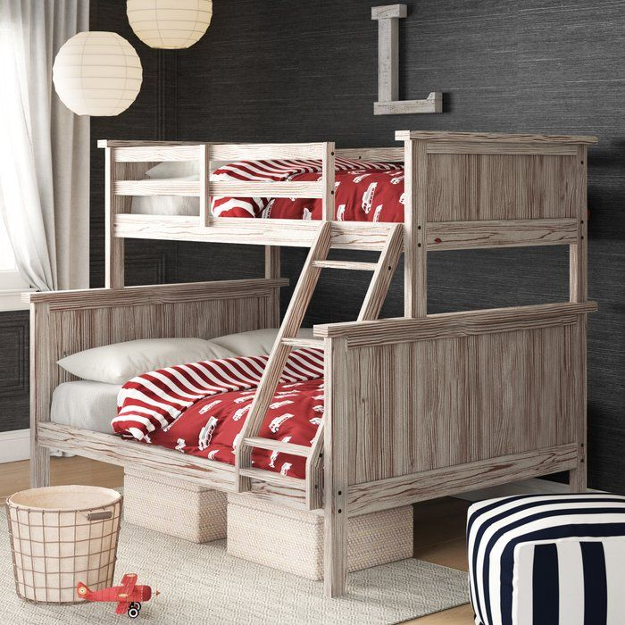Dominey Twin over Full Bunk Bed Bunk beds, Loft bed