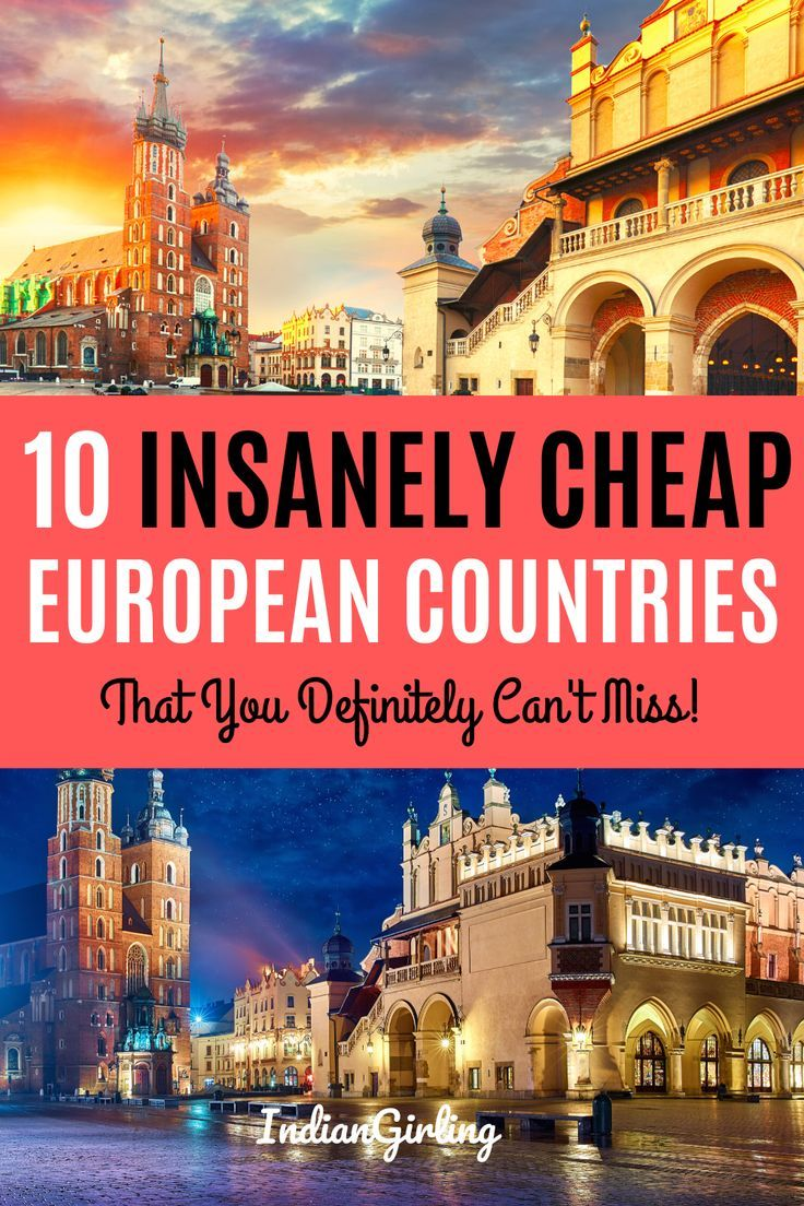 Top 10 Cheapest Countries To Visit In Europe And Around In 2019 In 2020 Countries To Visit Europe Travel Europe Travel Destinations