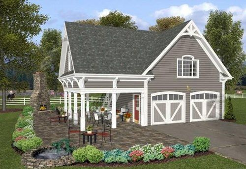 Floor Plans With Mother In Law Suite Floor Plans With Detached Garage Carriage House Plans Farmhouse Style House Plans Farmhouse Style House