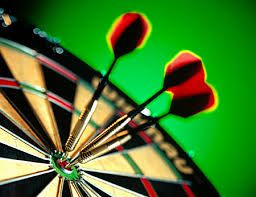 Trebles Board  Darts