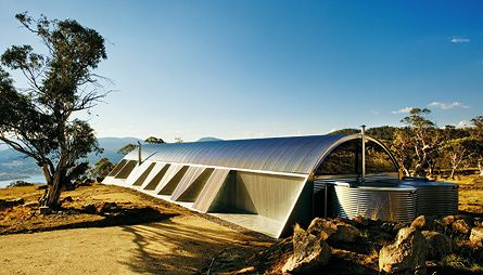 Ground Hugging House In The Snowy Mountains Of Nsw With