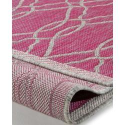 Photo of benuta In- & Outdoor-Teppich Cleo Pink 200×290 cm – für Balkon, Terrasse & Garten benuta