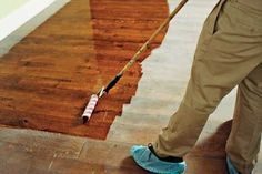 Recovering Wood Floors Without Sanding By Tanyadiana Refinish