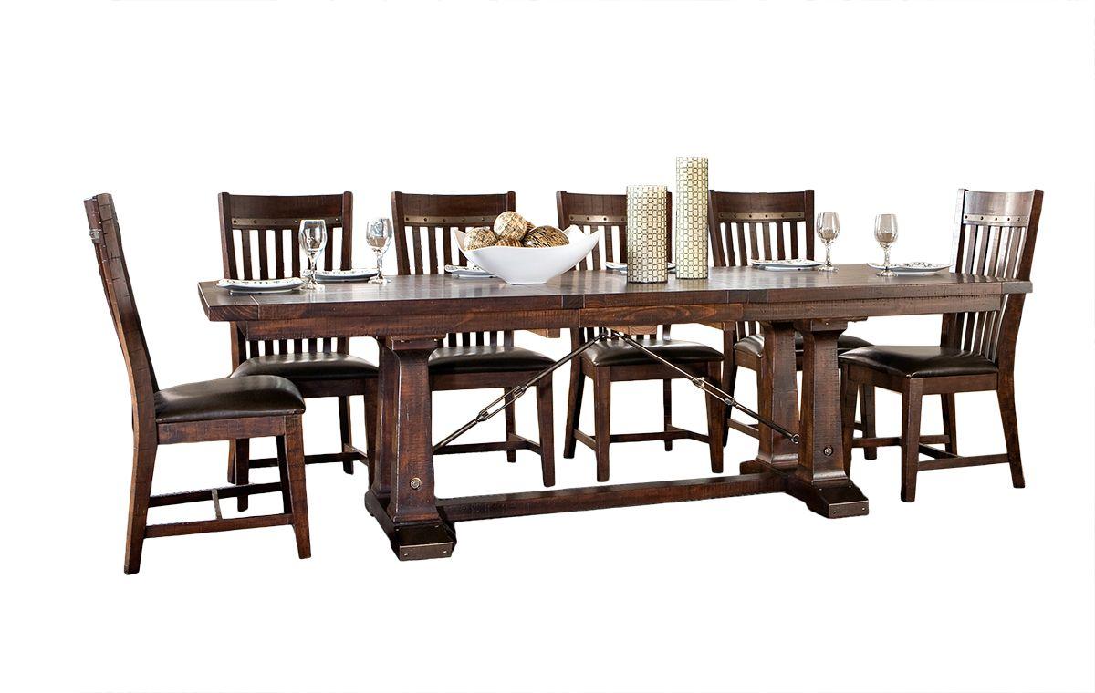 Intercon Hayden Dining Trestle Table Furniture Market Austin