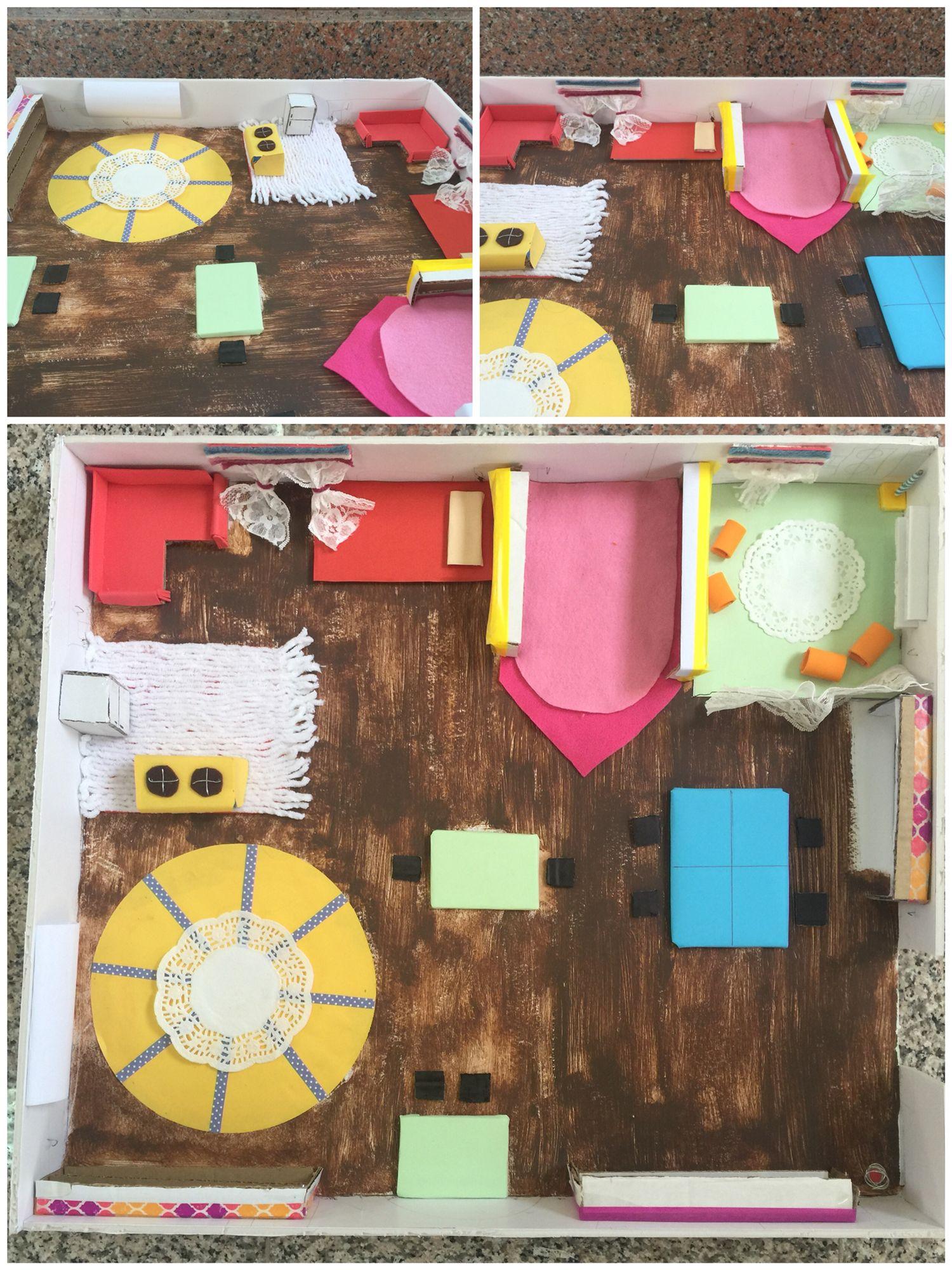 مجسم للبيئة الصفية استغرق التخطيط والتشكيل ساعتين أو أقل كنا نحب أن نضيف بعض التفاصيل الصغيرة ولكن لم يسفعنا الوقت Kindergarten Bathroom Scale