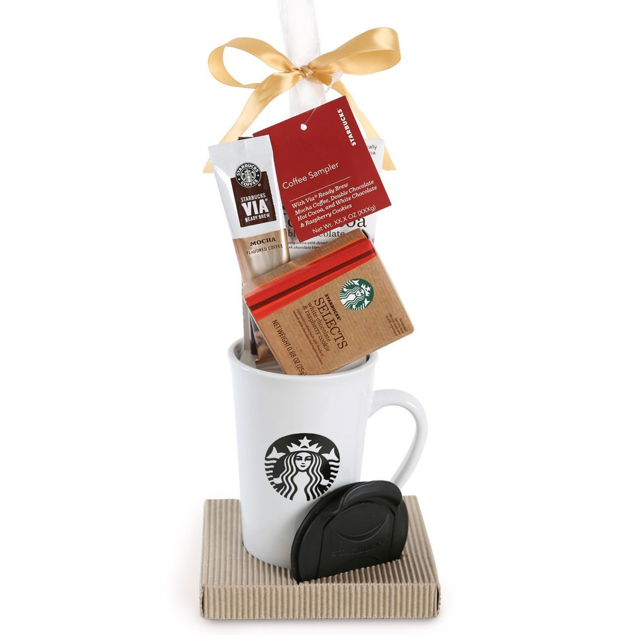 starbucks gift set with gift card