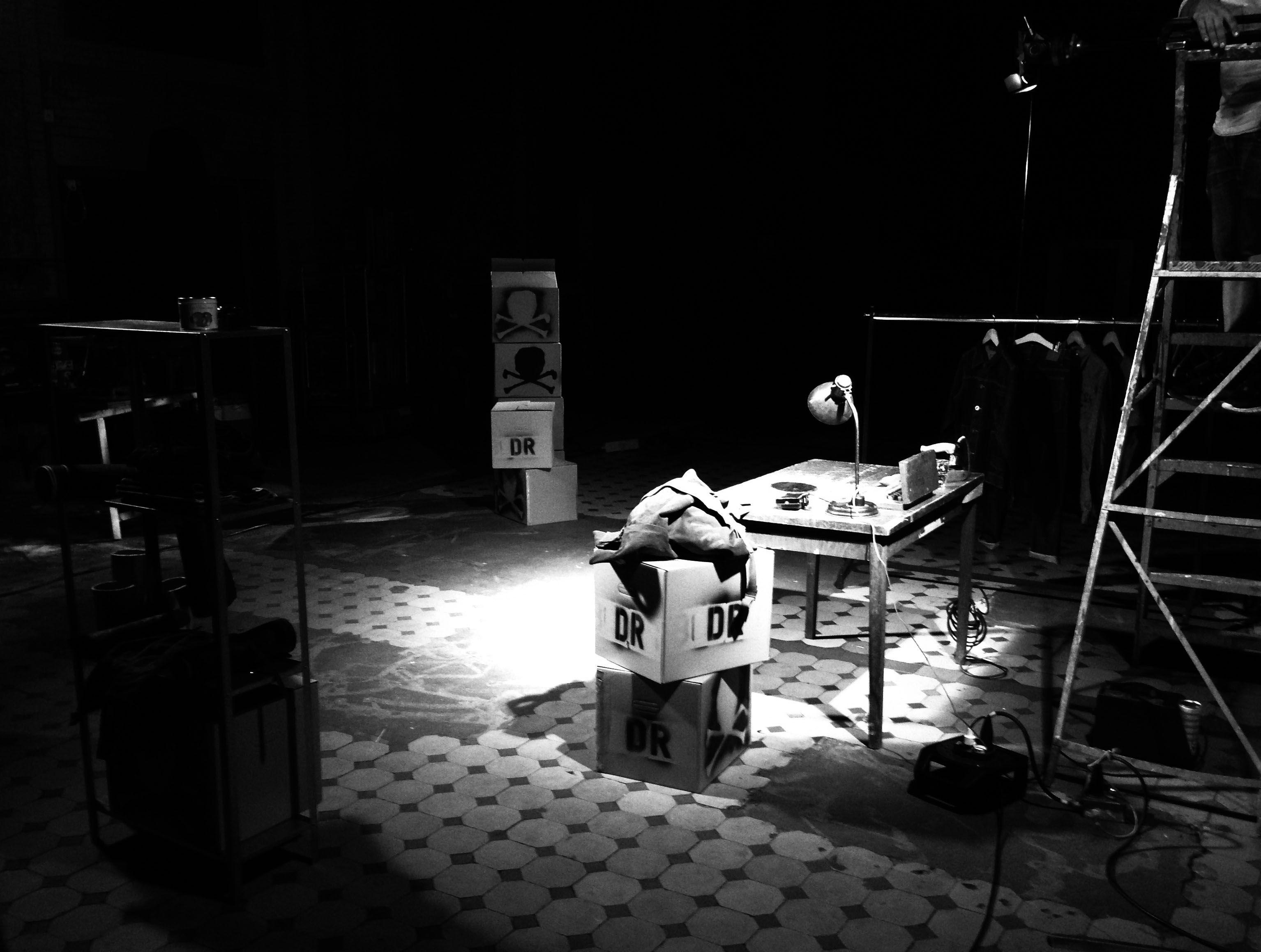 Video shoot Deadstock Resurrection @ Lichtfabriek Haarlem, The Netherlands.  www.deadstock-resurrection.com
