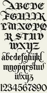 Old english fonts pinterest english letters and fonts alphabet letters old english thecheapjerseys Choice Image