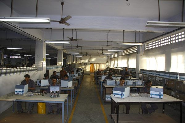 Individual product groups, dedicated assembly line